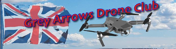Grey Arrows Banner