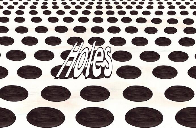 sea of holes