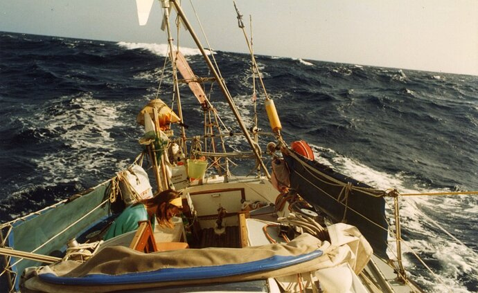 Atlantic sailing e 1992