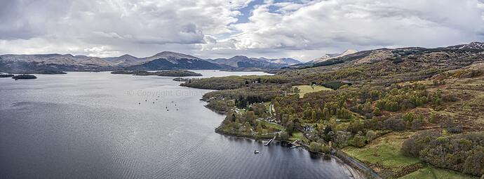 Loch Lomond HDR pan