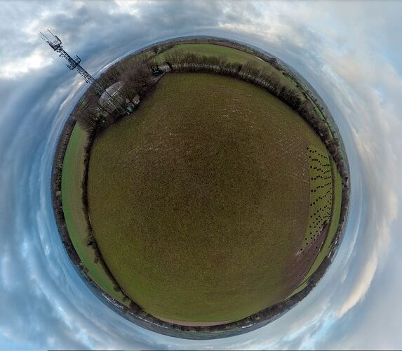 Tower Tiny Planet