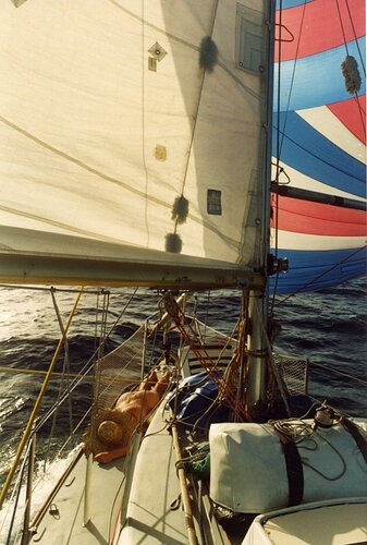 More Atlantic sailing 1992