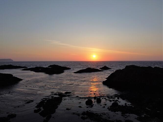 Sunset Ballintoy DJI_0172