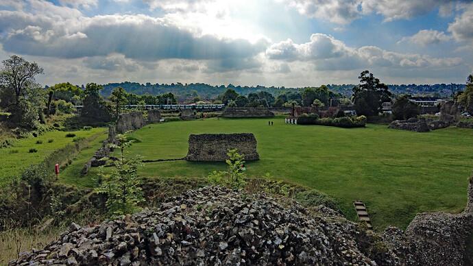 Berkhamsted Castle - Pocket 2 (sf)
