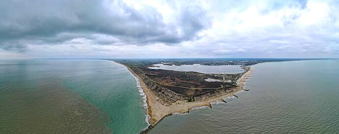 000 Panoramic view Hayling Island
